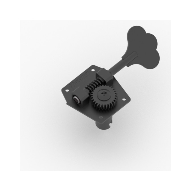 Hipshot HB3 Machine Head Tuner Black Bass Side