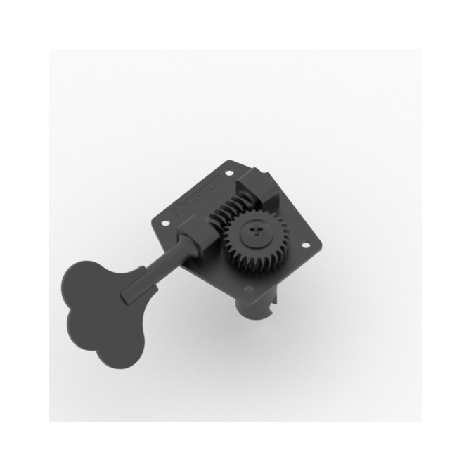 Hipshot HB3 Machine Head Tuner Black Treble Side