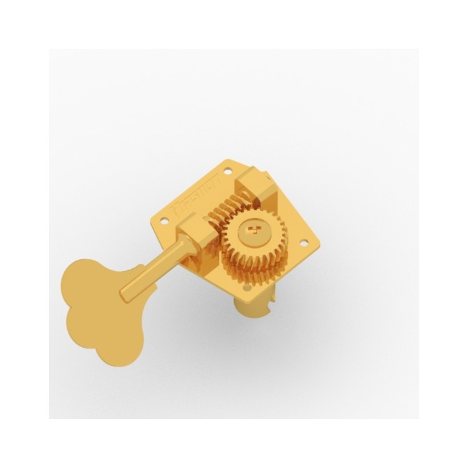 Hipshot HB3 Machine Head Tuner Gold Treble Side