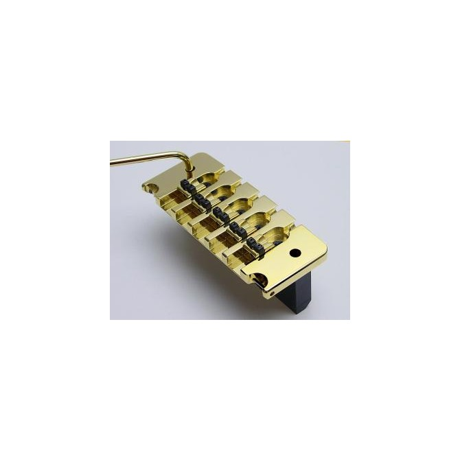 Hipshot 5String Bass Tremolo Piezo .708 Bridge Gold 18mm Spacing
