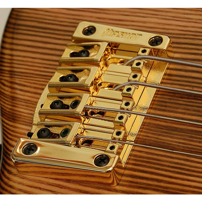 Hipshot Transtone 4String .750 Bass Bridge Gold 19mm String Spacing