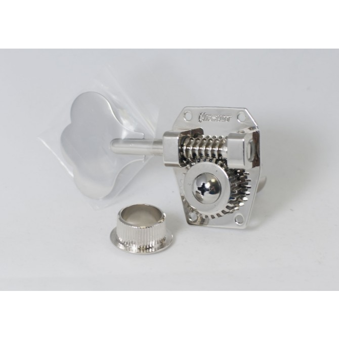 Hipshot HB1 Machine Head Tuner Nickel Treble Side