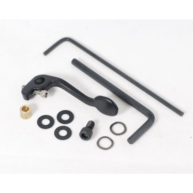 Hipshot Double Stop Lever Bass Side Black