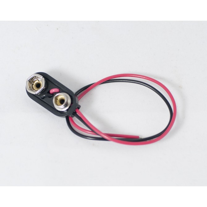 Battery Terminals 9v - 9 Volt with wire