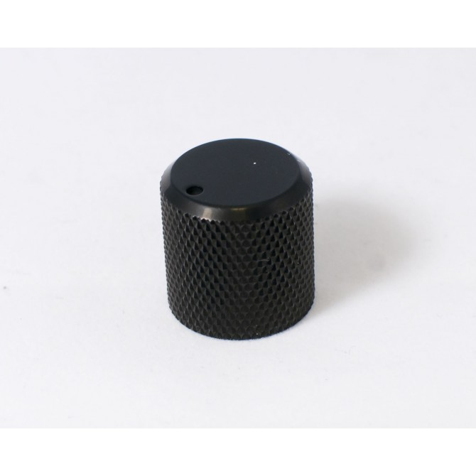 Metal Beveled Knob - Black Metal Knobs