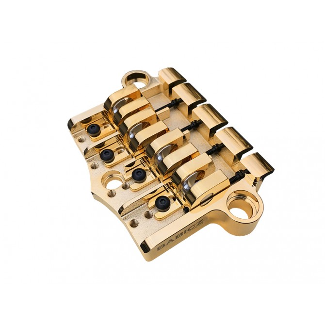 Babicz FCH 3-Point 4-String Bass Bridge Gold