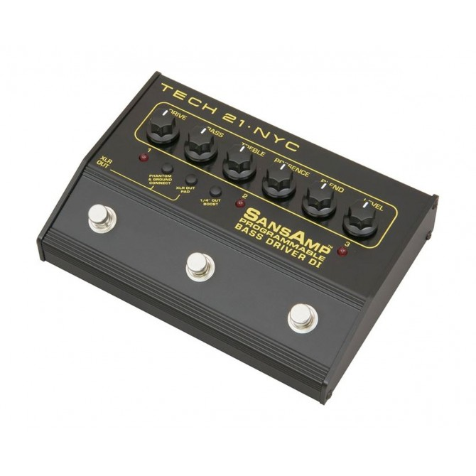 Tech 21 - Sansamp Programmable Bass Driver DI