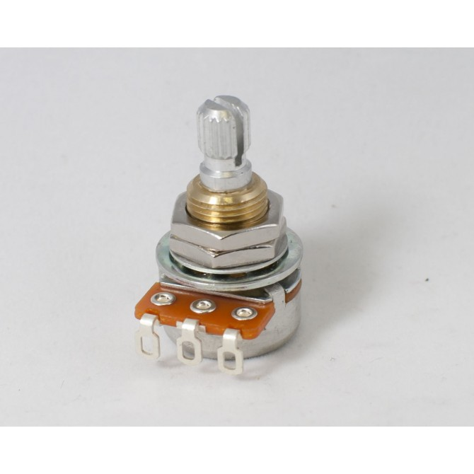 Noble 250k Volume Potentiometer Audio Taper 6mm Split Shaft