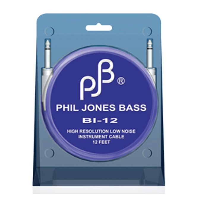 Phil Jones Bass BI-12 - 12 foot Bass Instrument Cable
