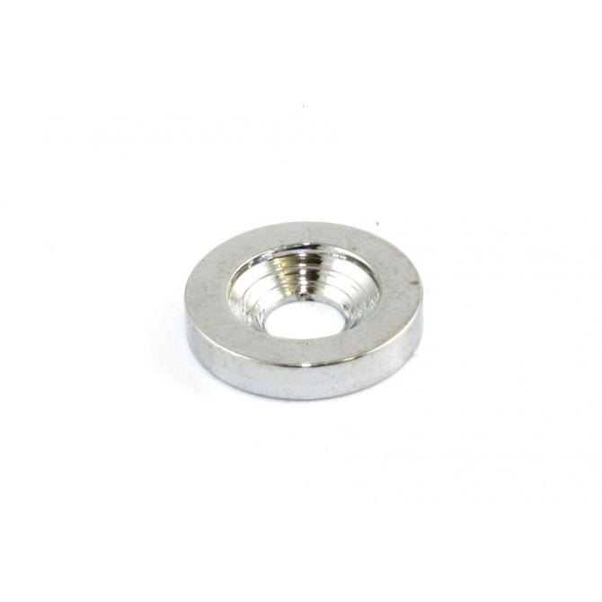 Chrome Neck Screw Bushings (4 pieces)