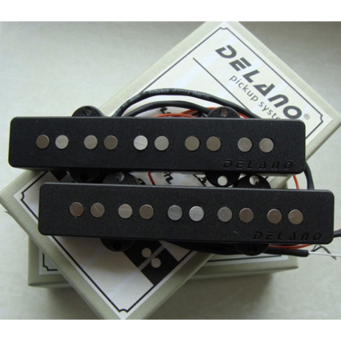 Delano JC5 AX 5 String Jazz AS L/S Size Split Coil Set
