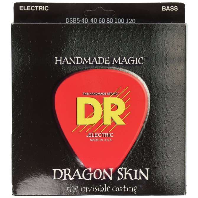 DR DSB5-40 Dragon Skin 5 String Light (40 - 60 - 80 - 100 - 120) Long Scale