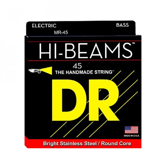 DR HI-BEAM Single String Medium (45) Long Scale