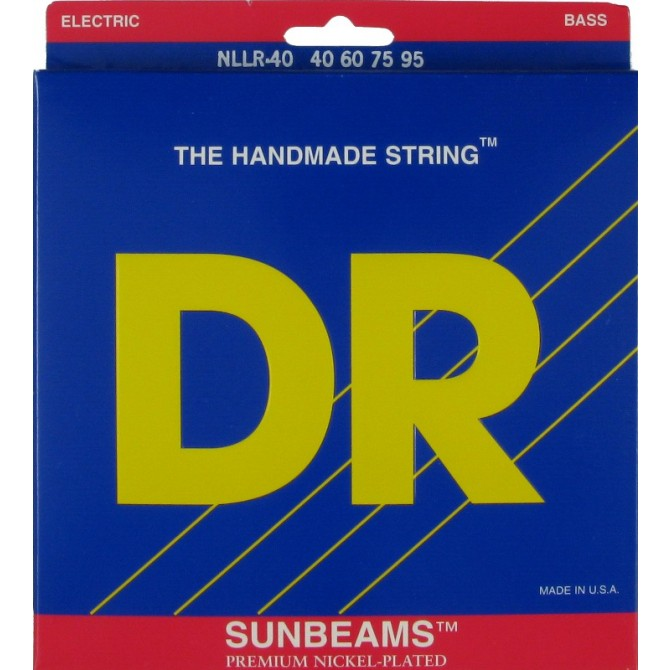 DR NLLR-40 Sunbeam 4 String Light-Light (40 - 60 - 75 - 95) Long Scale