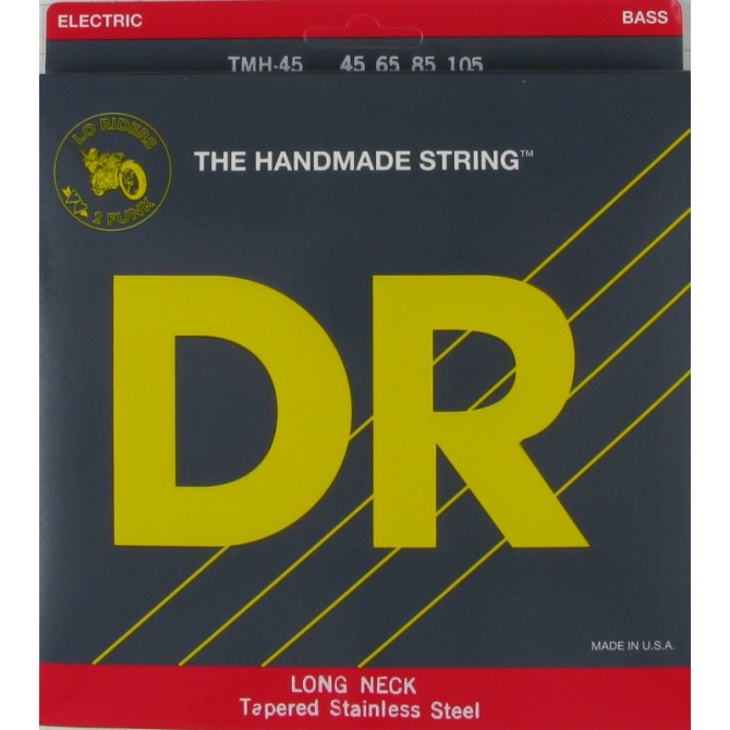 DR TMH-45 Long Necks 4 String Medium (45 - 65 - 85 - 105) Long Scale