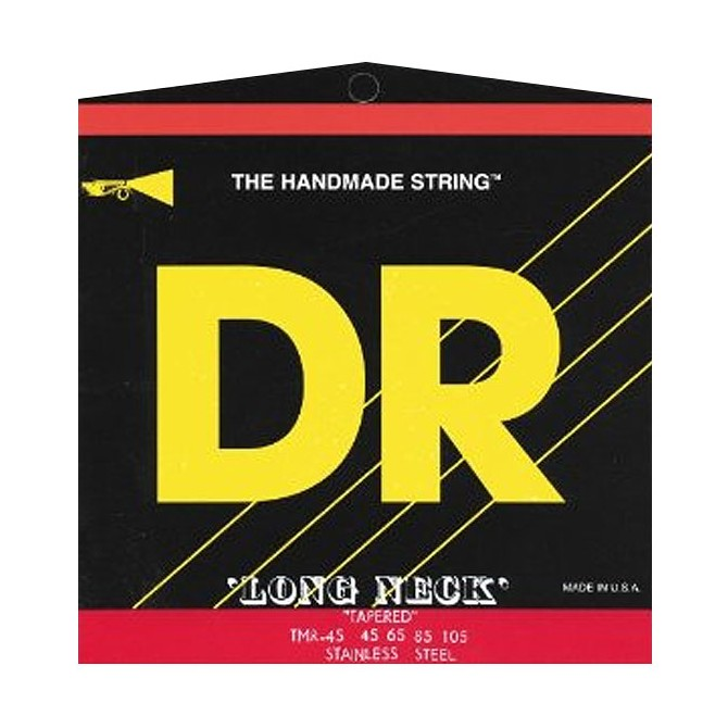 DR TMH6-30 Long Necks 6 String Medium (30 - 45 - 65 - 85 - 105 - 125) Long Scale