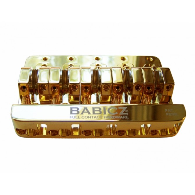 Babicz Full Contact Hardware -  FCH-5GLD -  5 string gold bridge