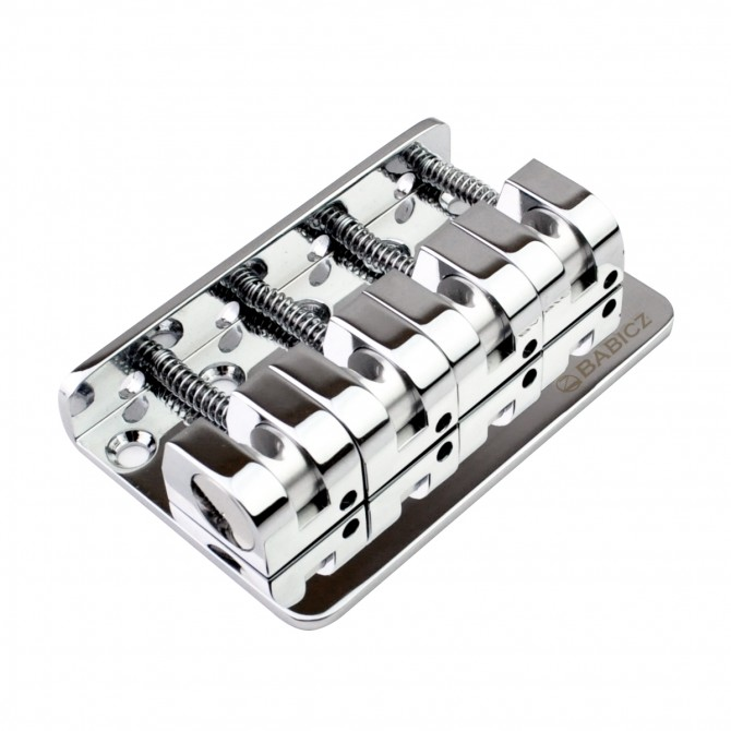 Babicz 4-String Z Series Bass Bridge (Chrome)