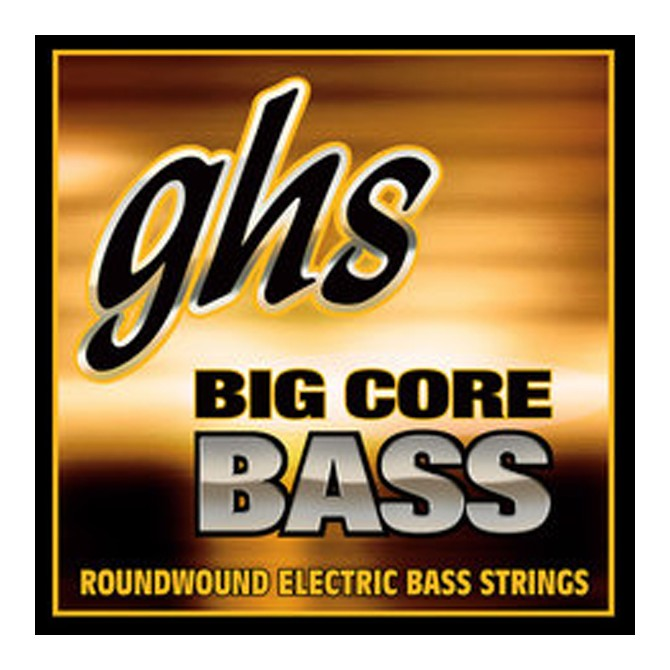 GHS Big Core Bass Strings Medium 5 String Set (45 - 65 - 85 - 105T - 130T)