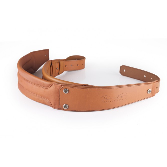 GruvGear DuoStrap Signature Tan Leather Ergonomic Double Strap
