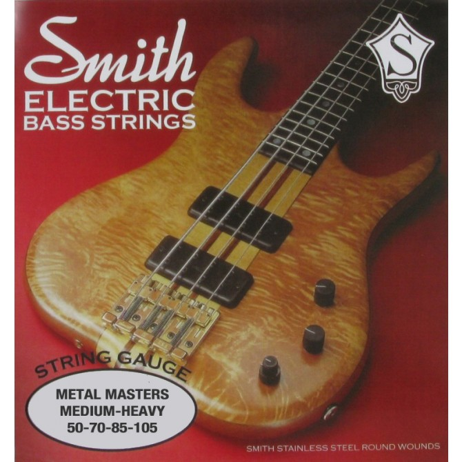 Ken Smith MM-MH Metal Master 4 String Medium Heavy (50 - 70 - 85 - 105) Long Scale