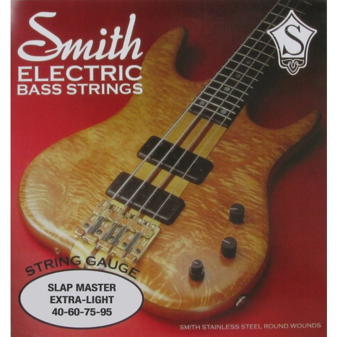 Ken Smith SM-XL Slap Master 4 String Extra Light (40 - 60 - 75 - 95) Long Scale