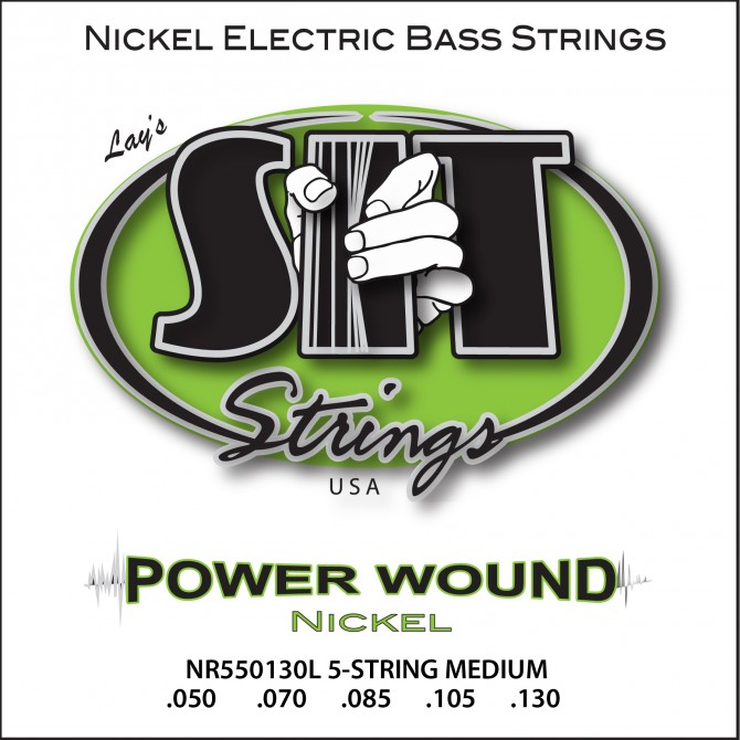 SIT NR5-50130L Power Wound Nickel 5 String Medium (50 - 70 - 85 - 105 - 130) Long Scale
