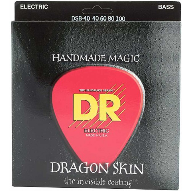 DR DSB-40 Dragon Skin 4 String Light (40 - 60 - 80 - 100) Long Scale
