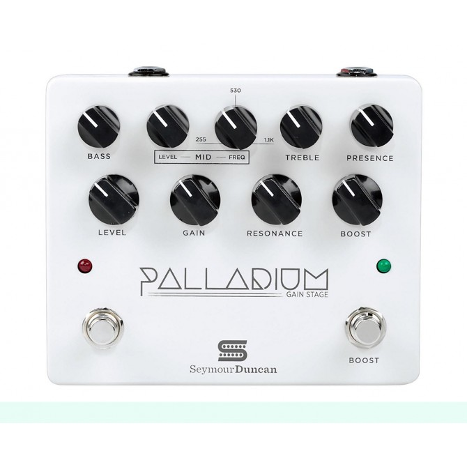Seymour Duncan Palladium Gain Stage Pedal White