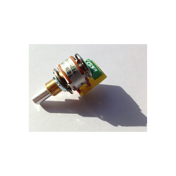 BBG 250k Blend Potentiometer 6mm Solid Shaft Solderless