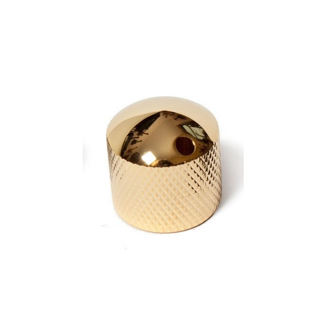 Noll Single Dome Knob (Gold)