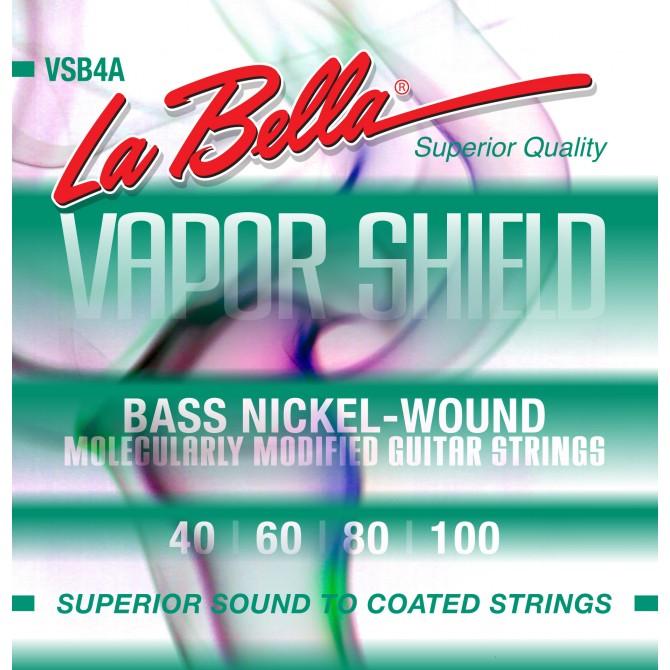 Labella VSB4A Vapor Shield 4 String Light (40 - 60 - 80 - 100) Long Scale