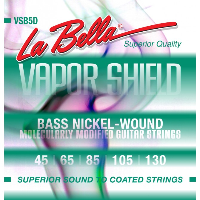 Labella VSB5D Vapor Shield 5 String Medium (45 - 65 - 85 - 105 - 130) Long Scale