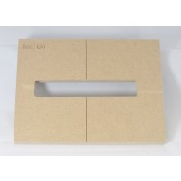 "Mike Plyler 1/2"" Thick MDF G6 Size Template"