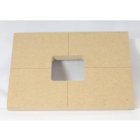 "Mike Plyler 1/2"" Thick MDF 18v Battery Box Template"