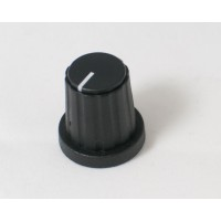 Black Plastic Knob Model 75