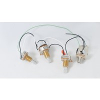Prewired Passive Harness (Volume-Blend-Tone)