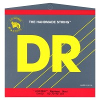 DR Strings MH-45 H Lo Rider 4 String Hybrid (45 - 60 - 85 - 115) Long Scale