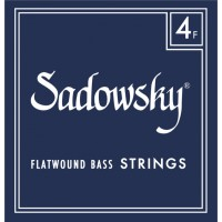 Sadowsky Blue Label Flatwound Bass Strings