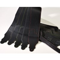 Franklin Original Black Glove Strap with Constrasting Stitch