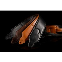 "Franklin Padded Glove 3"" Caramel Strap with Natural Stitch"