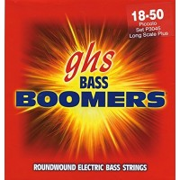 GHS P3045 Bass Boomers 4 String Piccolo (18 - 30 - 40 - 50) Extra Long Scale