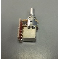 Glockenklang 500k Volume Potentiometer Audio Taper Push/Pull 6mm Solid Shaft