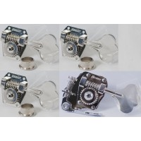 4-String HB1 & BT1 Tuner/De-tuner Bass Side Nickel Set