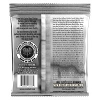 Ernie Ball Bass 5 Slinky Coated Electric Bass Strings - 45-130 Gauge - Back