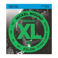 4-String Extra Light Long Scale  (40 - 60 - 75 - 95) Twin Pack