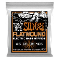 Ernie Ball Hybrid Slinky Flatwound Electric Bass Strings - 45-105 Gauge