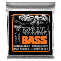 Ernie Ball Hybrid Slinky Coated Electric Bass Strings - 45-105 Gauge