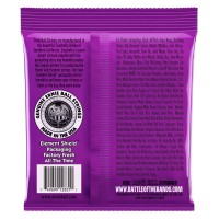 Ernie Ball Power Super Slinky Nickel Wound Electric Bass Strings - 55-110 Gauge - Back