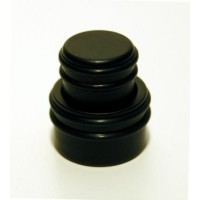 Hipshot Stacked O-Ring Knob - Black